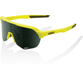 100% S2 Glasses soft tact banana/smoke